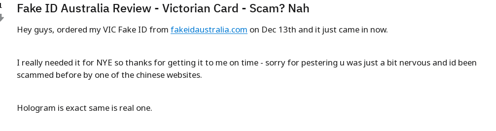 Id Scam ⋆ Australia See Fake Fakeidaustralia A Proof - Is